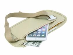 Bezpečnostní cestovní pouzdro na doklady a peníze