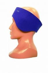 Modrá neoprenová čelenka na obvod hlavy 58 +/- 1cm