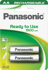 Panasonic Ready to Use EVOLTA AA 1900 HHR-3MVE/2BC