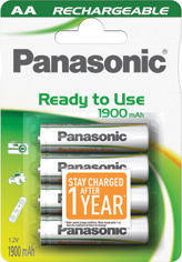 Panasonic Ready to Use EVOLTA AA 1900 HHR-3MVE/4BC
