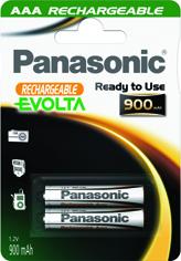Panasonic Ready to Use EVOLTA AAA 900 HHR-4XXE/2BC