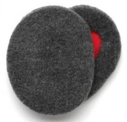 Samodržící klapky na uši vel. L Earbags šedé