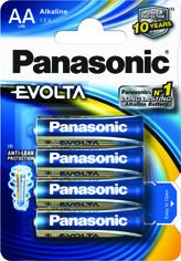 Baterie AA Panasonic Evolta LR6EGE/4BP