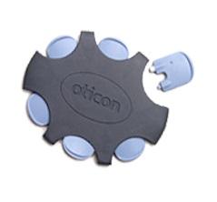 6x krytka Oticon No Wax filtr proti ušnímu mazu