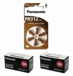 20 x baterie do sluchadel Panasonic PR312(41)/6LB