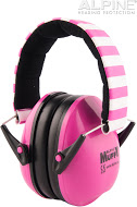Alpine Muffy Pink chrániče sluchu pro děti -25 dB