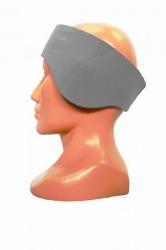 Neoprenová čelenka na obvod hlavy 56 +/- 1cm šedá