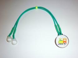 Záchytný klip pro děti na sluchadla či procesor/y