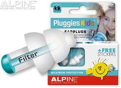Alpine Pluggies Kids proti hluku+vodě -25dB 1 pár