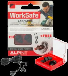 Chrániče sluchu Alpine WorkSafe SNR 23 dB 1 pár