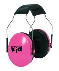 Dětská ochranná sluchátka Peltor Kid -27 dB růžová