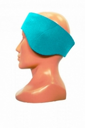 Neoprenová čelenka na obvod hlavy 60+/-1cm tyrkys