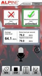 Hlukoměr do mobilu - MusicSafeCheck APP mobilní aplikace