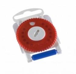 15x červená krytka HF 3 filtr proti ušnímu mazu