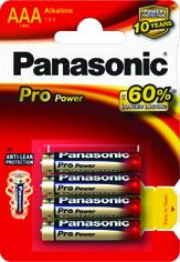 Baterie AAA Panasonic Pro Power LR03PPG/4BP