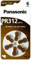 Baterie do sluchadel Panasonic PR312(41)/6LB