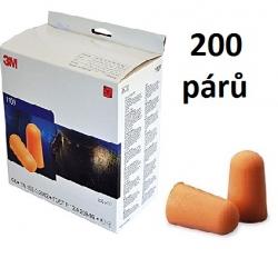 Chrániče sluchu 3M 1100 SNR 37 dB 200 párů