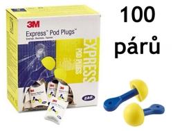 Chrániče sluchu 3M E-A-R Express - 28 dB 100 párů