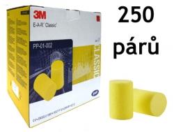 Chrániče sluchu 3M EAR Classic SNR 28 dB 250 párů