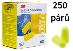 Chrániče sluchu 3M EAR Soft SNR 36 dB 250 párů