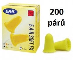 Chrániče sluchu EAR Soft FX -39dB! 200 párů