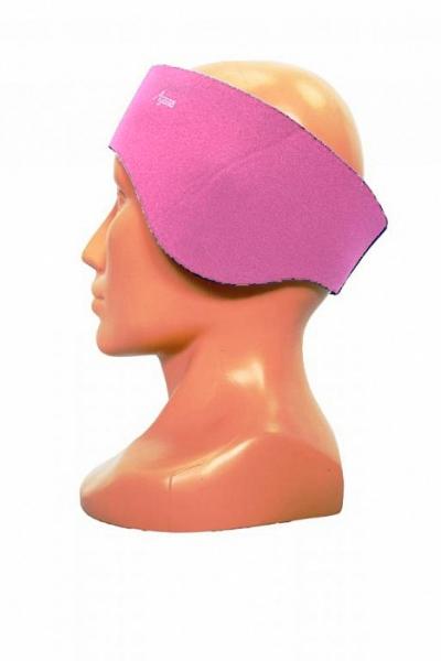 86a4c1408e4 Růžová neoprenová čelenka pro dospělé i děti