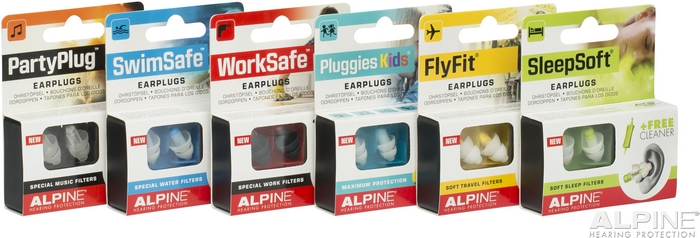 Alpine Hearing Protection - bezkonkurenční špunty do uší
